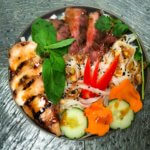 Build you own Vietnamese style noodle dish