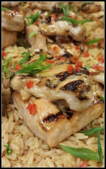 Miso Chicken and Salmon