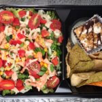 Southwest Salmon salad